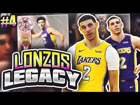 LONZOS LEGACY 2.0 #4 - HUGE UPGRADES/AMETHYST PULL!! NBA 2K18 MYTEAM!