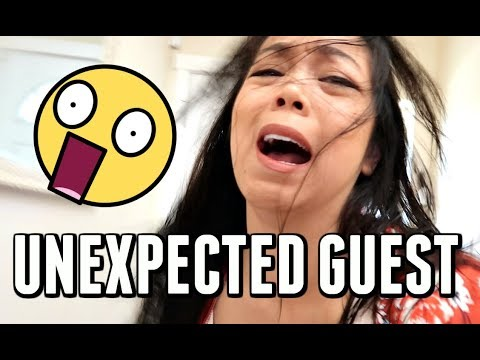 THERE WAS AN UNEXPECTED GUEST AT OUR DOOR! -  ItsJudysLife Vlogs