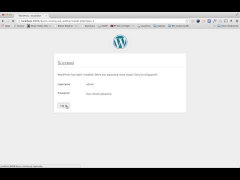 Installing WordPress on Your Local PC