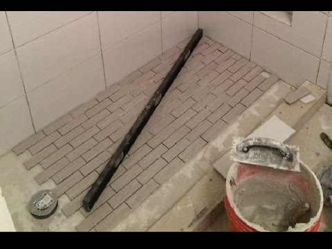 Shower With No Pan Liner & No Mortar