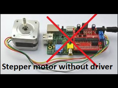 HACKED: Stepper motor without driver!