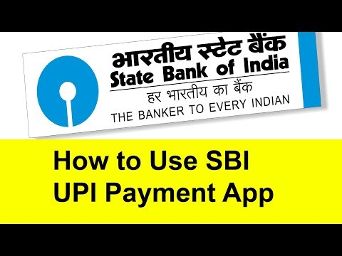 How to Use SBI UPI Payments app | Tamil Banking