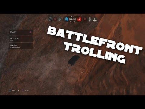 Battlefront TROLLING
