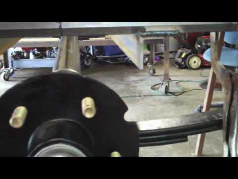 How to Build a Utility Trailer Part 7 Mounting Fenders and Potential Problems