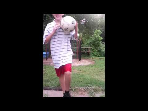 My homemade soccer goal