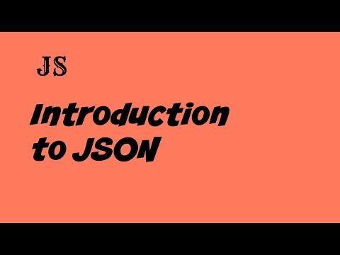 Json tutorial for beginners in javascript.