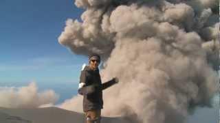 Climbing the Exploding Semeru Volcano