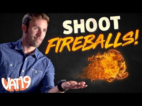 How to THROW FIREBALLS