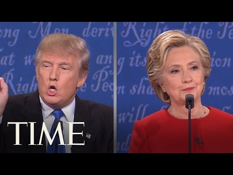 Donald Trump vs. Hillary Clinton: All Debate Interruptions | TIME