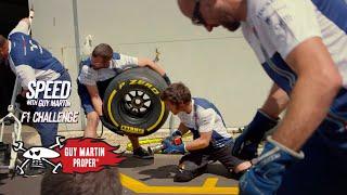 Guy's F1 Pit Stop Training   Guy Martin Proper