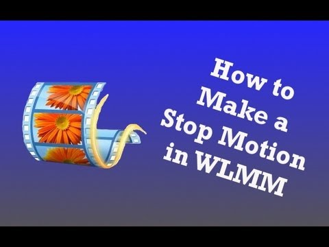 Brickfilm Tutorials Episode 5- How to Make a Stop Motion in Windows Live Movie Maker (WLMM)