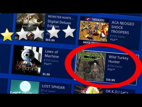 Looking at the WORST PS4 GAMES!