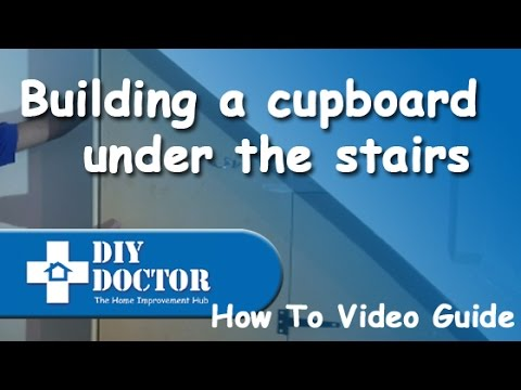 Building a cupboard under the stairs