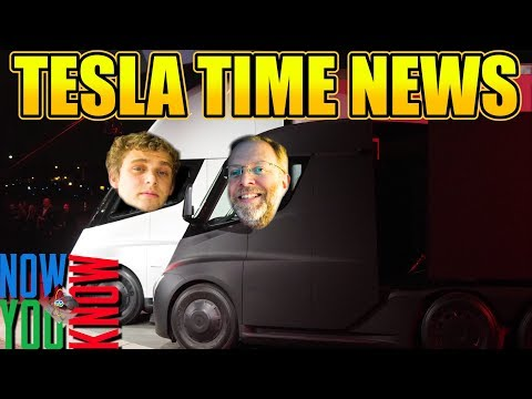 Tesla Time News - How You Can Race a Tesla Semi Truck!