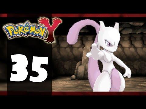 Pokémon Y - Part 35 - Catching Mewtwo (Playthrough/Walkthrough)
