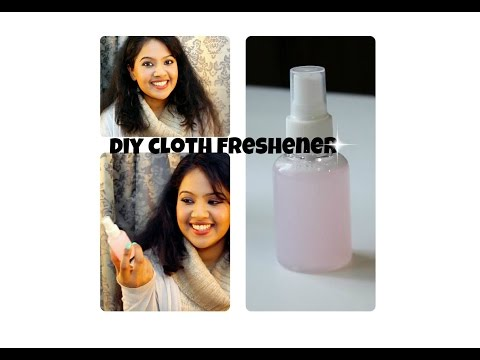 DIY Cloth Freshener - Soumya Midhun