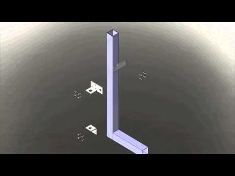 Tek Gate & Fence Driveway Gate Drop Bolt Installation