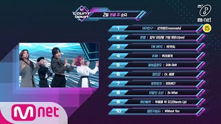 What Are The TOP10 Songs In 3rd Week Of February M COUNTDOWN 200220 EP653