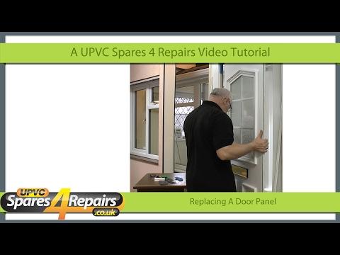 Replacing A UPVC Door Panel