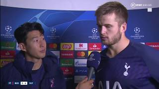 """""""I'm really, really sorry!"""" Heung-min Son talks Andre Gomes injury and Tottenham's win over Red Star"""