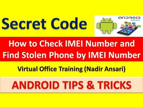 How to Check IMEI Number and Find Stolen Phone by IMEI Number [English]