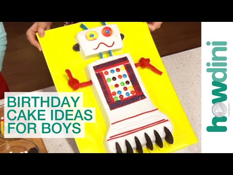 Birthday Cakes: Top 5 Cake Ideas for Boys