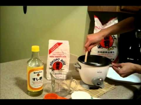 How To Make Sushi Rice In A Rice Cooker