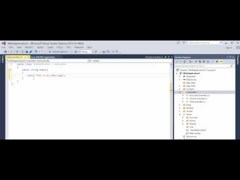 MVC 5 - How to change default startup page (controller)
