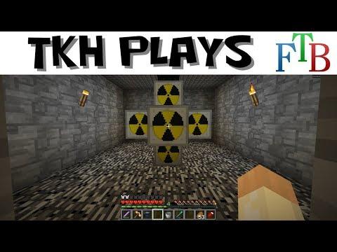 FTB Infinity Lite #26 - IC2 Nuclear Power (Modded Minecraft 1.10)