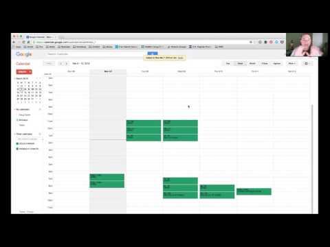 2 Accessing a Shared Google Calendar