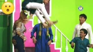 Best of Zafri Khan and Vicky Kodu with Asha Choudhary Stage Drama Baazigar Comedy Clip 2019