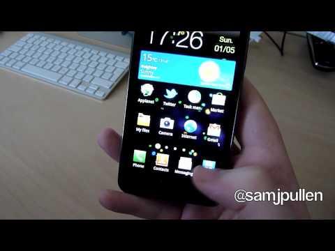 Samsung Galaxy S2 - IM App