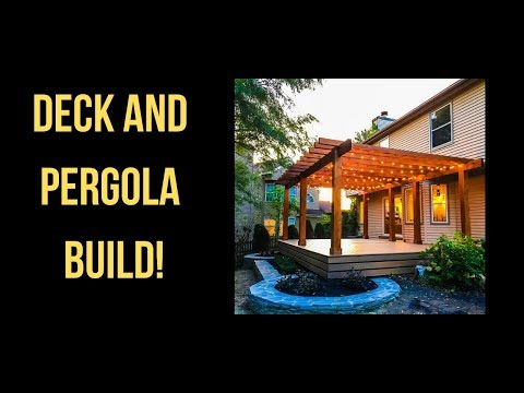 Custom Deck and Pergola Time Lapse - Marlton NJ