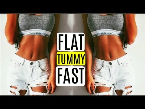How To Get a FLAT Stomach FAST & LOSE FAT! Summer body 2018