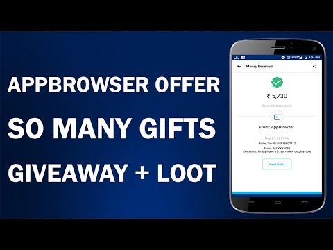 Best Offer + So Many Paytm Cash !! Giveaway + Loot Offer !! Appbrowser Reffer & Earn Offer !!