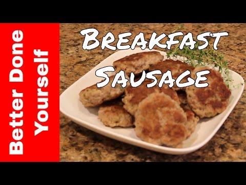 How to Make Pork Breakfast Sausage