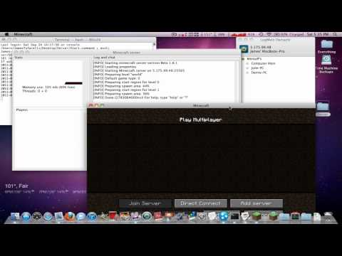 Minecraft: How To Join (Have People Join) Your Hamachi Server [Mac] -HD