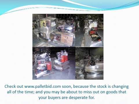 Buy Customer Returns at Palletbid Departmental Store