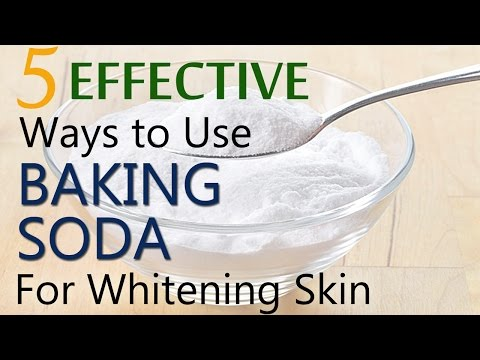 Baking soda for whitening skin | 5 Effective ways to use baking soda for skin whitening