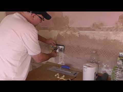 DIY: How To Protect Sockets & Switches When Plastering