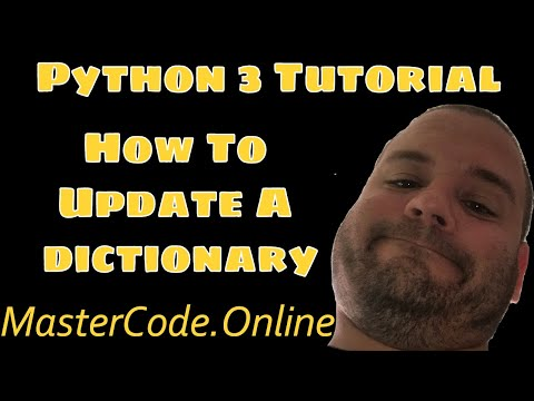 How To Update A Dictionary In Python 3