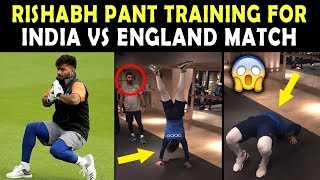 Rishabh Pant TRAINING HARD for India vs England Match | Must Watch Video | World Cup 2019