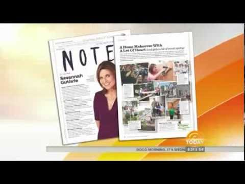 The Today Show Highlights Savannah Guthrie's LHJ Piece and Rebuilding Together