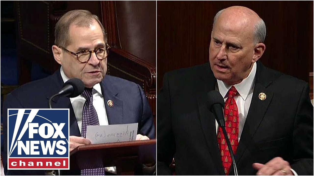 Watch tensions erupt on House floor as Gohmert shouts at Nadler