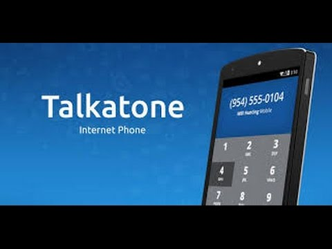 Talkatone: Text and Call FREE all over North America Using WiFi or Celluar data
