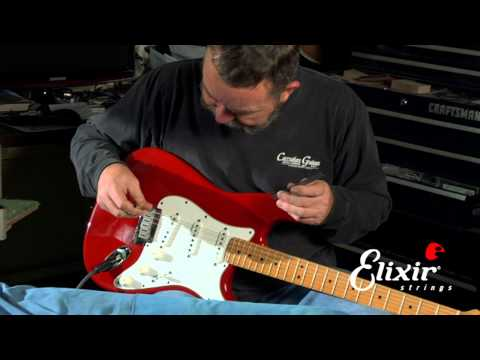 Setting Up Your Stratocaster Guitar: Bridge Action Height Adjustment  (Step 2 of 4)
