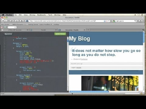 How to Make a Theme Wider With Custom CSS in Tumblr : CSS Tips & More