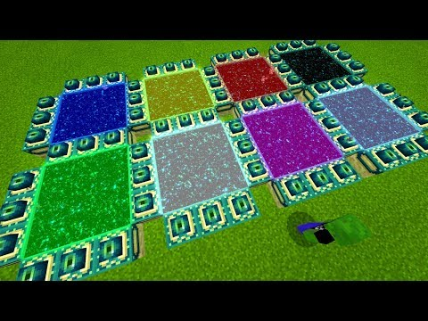 8 NEW DIMENSIONS IN MINECRAFT!