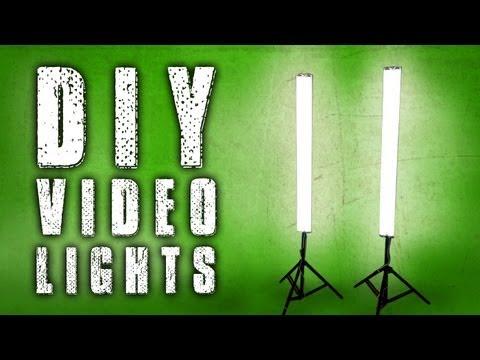 How To: DIY Fluorescent Video Lights (Poor Man Kino Flo)