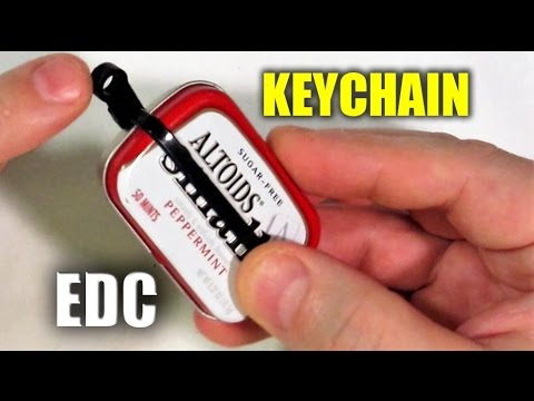 Altoids SMALLS Survival Kit: Keychain Carry